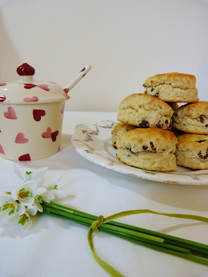 my scone recipe