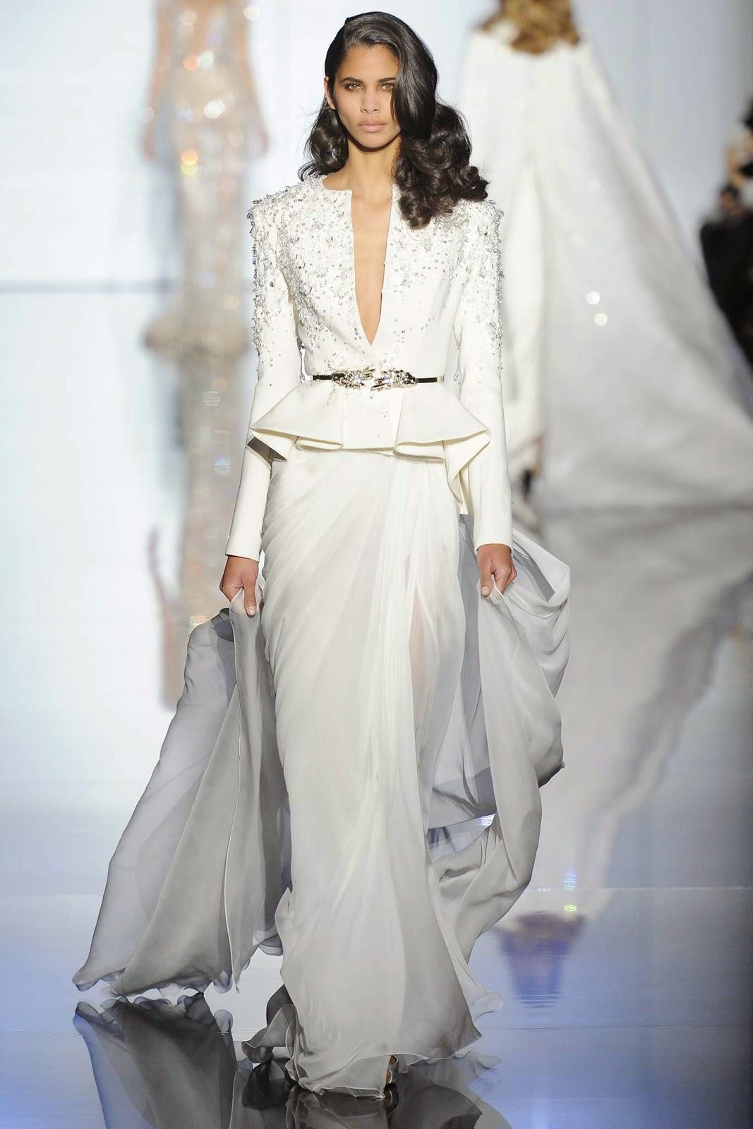 RUNWAY REPORT.....Paris Couture Fashion Week: Zuhair Murad Haute ...