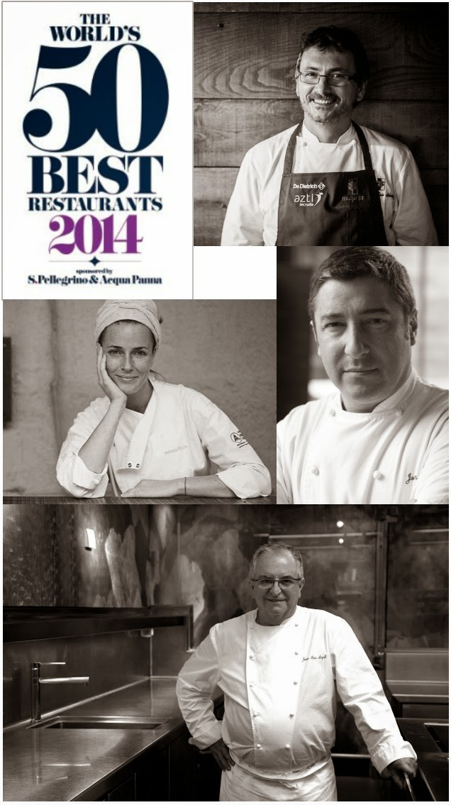 The World's 50 Best Restaurants 2014