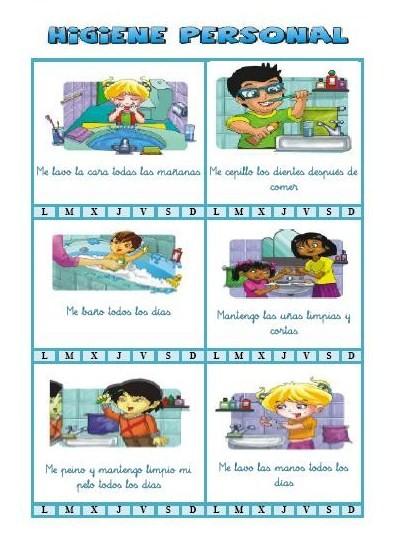 Las Looneys: Práctica III: Higiene en la Educación Infantil