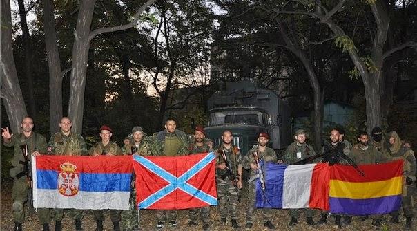 Νοβορωσία:  Εθελοντές - Διεθνιστές