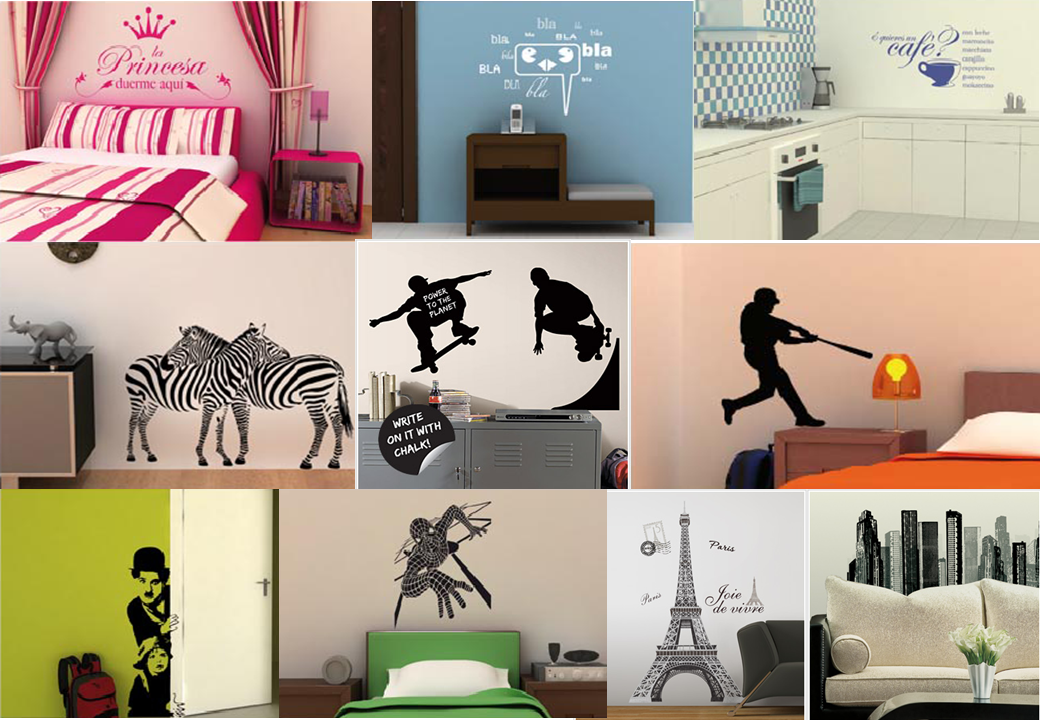 Stickers de pared para habitaciones imagui for Stickers para habitaciones