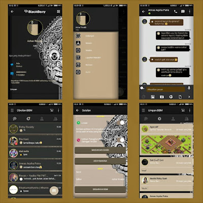 Finally Mod Blackberry Messenger application to the subject of this script has been acquaint  Download BBM Mod Aksara Theme 2.10.0.35 Latest