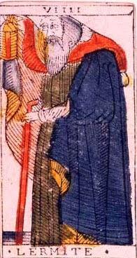 Carta original del tarot de Marsella