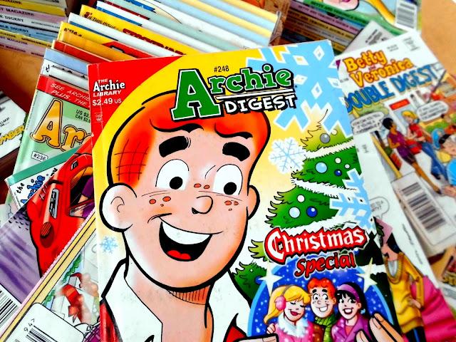 Archie Comics, chistes, paquines, revistas, caricaturas