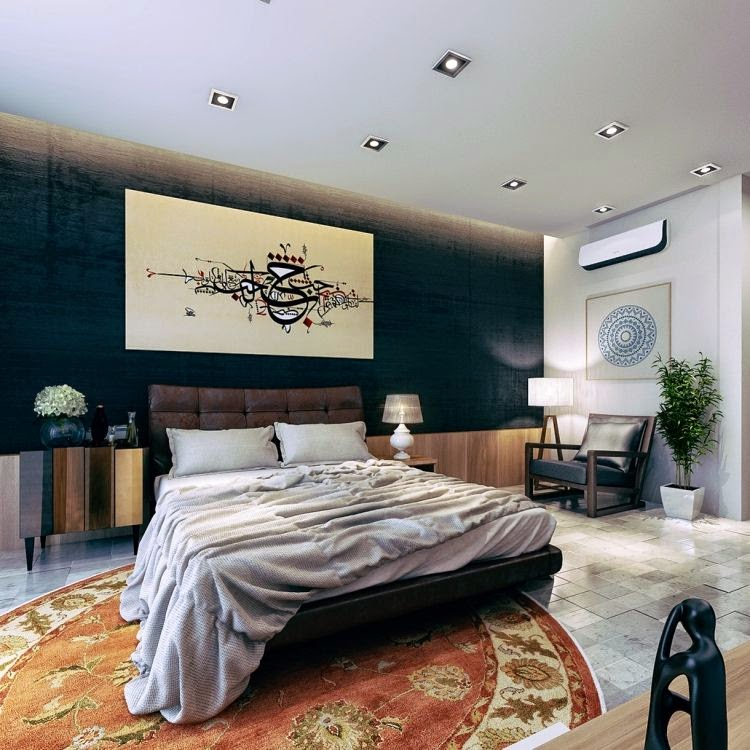 Moderna habitaci n matrimonial dormitorios colores y estilos - Cuadros para habitacion matrimonial ...