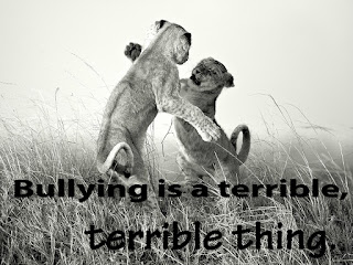 Bullying is a terrible, terrible thing.
