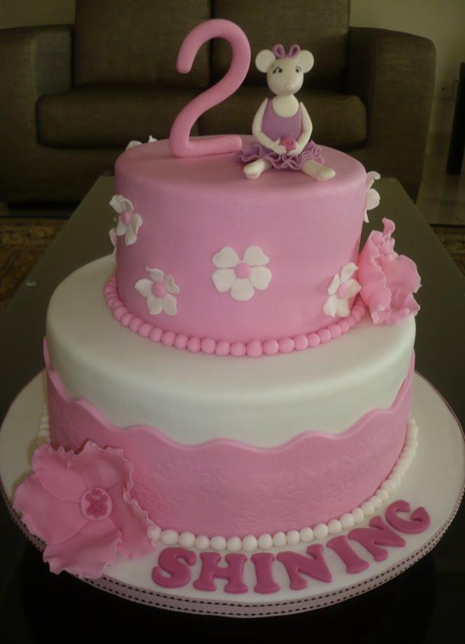 Emmas World Angelina Ballerina Cakes