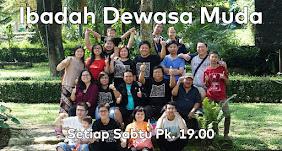 Ibadah Dewasa Muda, Setiap Sabtu Jam 19.00