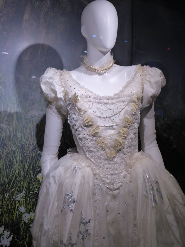 White Queen gown Alice through the Looking Glass