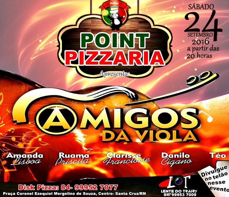Sábado, temos um encontro no Point Pizzaria