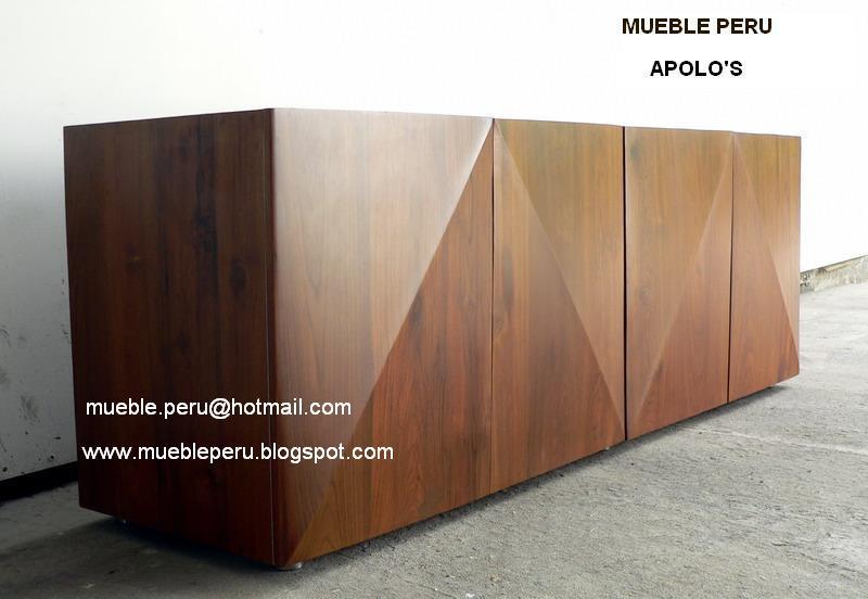 Comedores   muebles perÚ: aparadores modernos