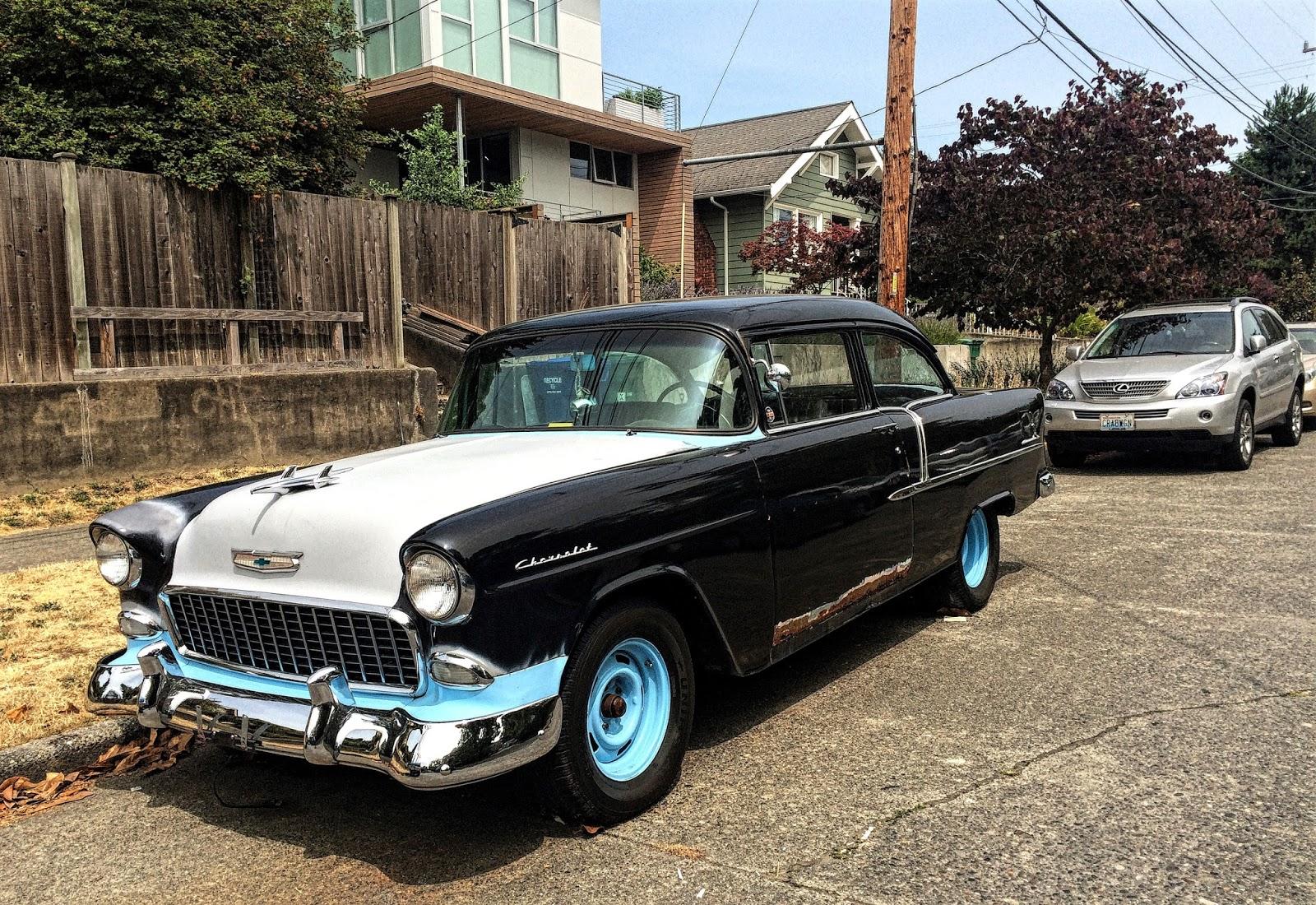 Seattle 39 s classics 1955 chevrolet 210 2 door sedan for 1955 chevy 4 door sedan