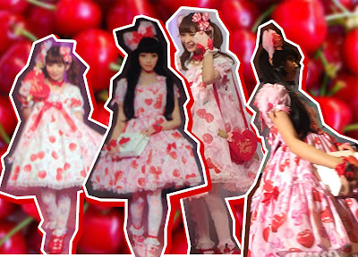 kawaii cute lolita fashion mintyfrills dress berry