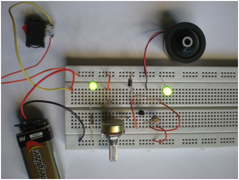 Creative experiments controlador de temperatura usando ldr for Pared que deja pasar la luz