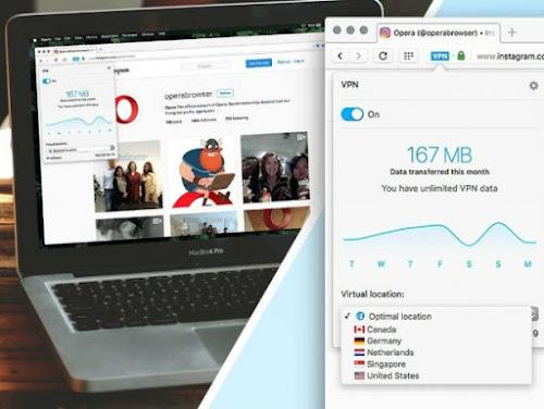 Opera 41 para desktop libera VPN gratuita e ilimitada para todos na web
