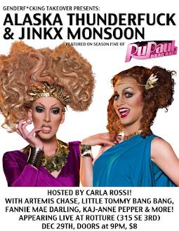 Jinkx and Alaska and MEEEE