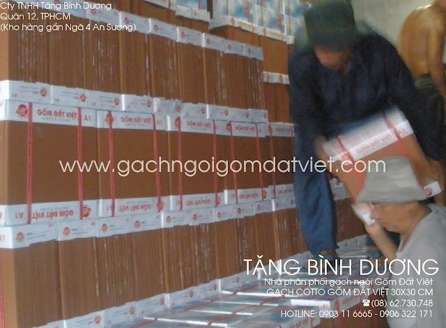 Gạch tàu 30x30 Gốm Đất Việt