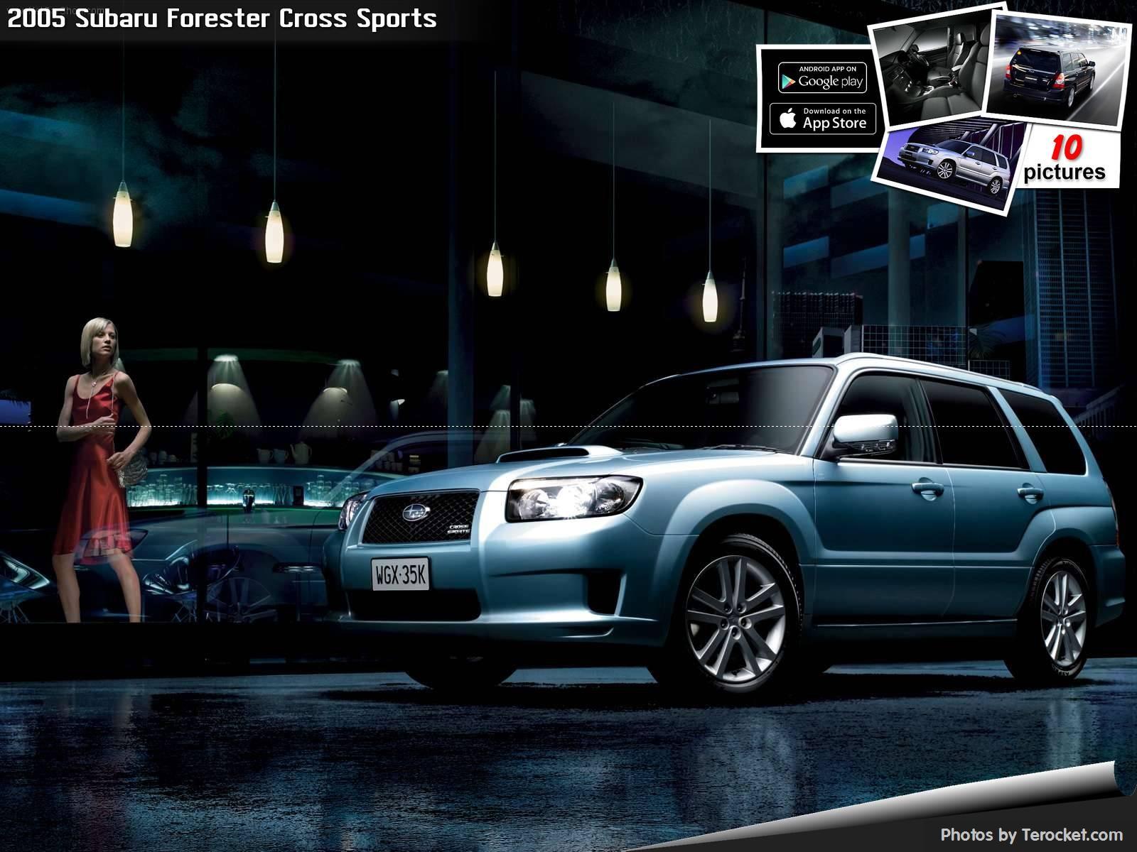 Hình ảnh xe ô tô Subaru Forester Cross Sports 2005 & nội ngoại thất