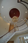 Faux finished Rotunda with dome