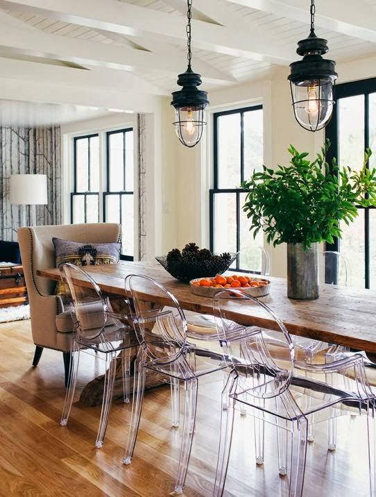 eclectic yemek masası