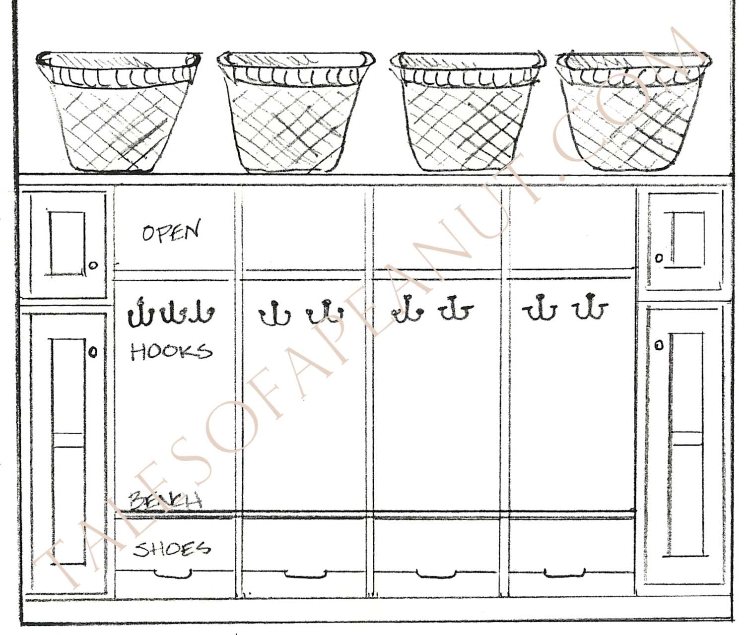 Download Mudroom Storage Building Plans msd flow bench plans ...