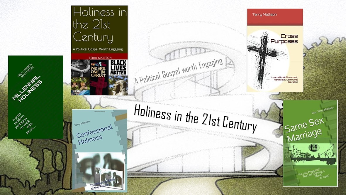 "My published books on ""Holiness in the 21st Century"""