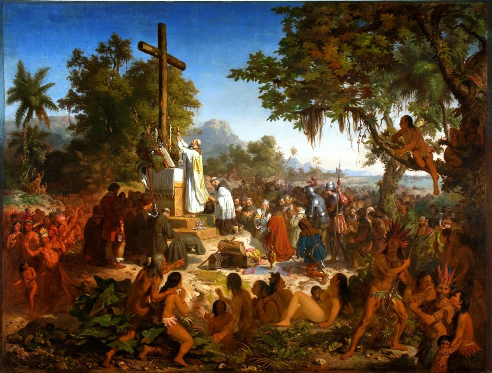 1er Messe au brésil