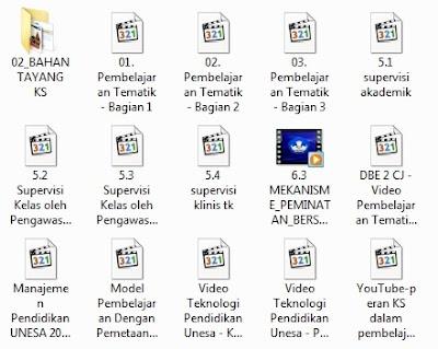 Kumpulan Video Pembelajaran Kurikulum 2013