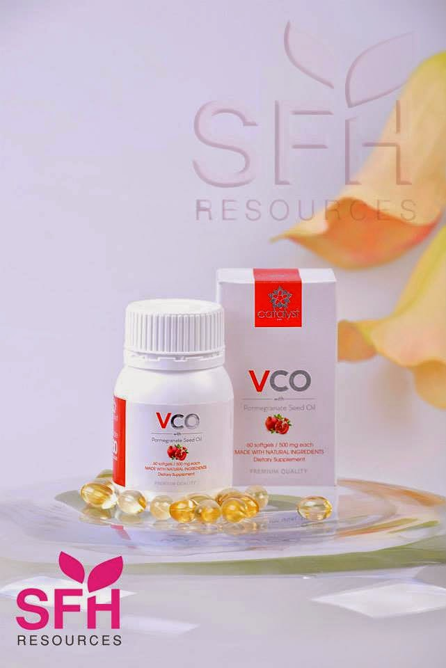 VCO with Pomegranate seed Oil