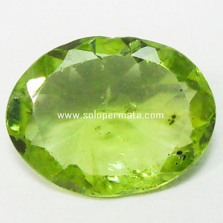 Batu Permata Green Peridot - 30A01