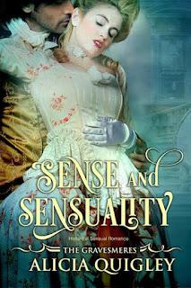 Book cover: Sense & Sensuality by Alicia Quigley