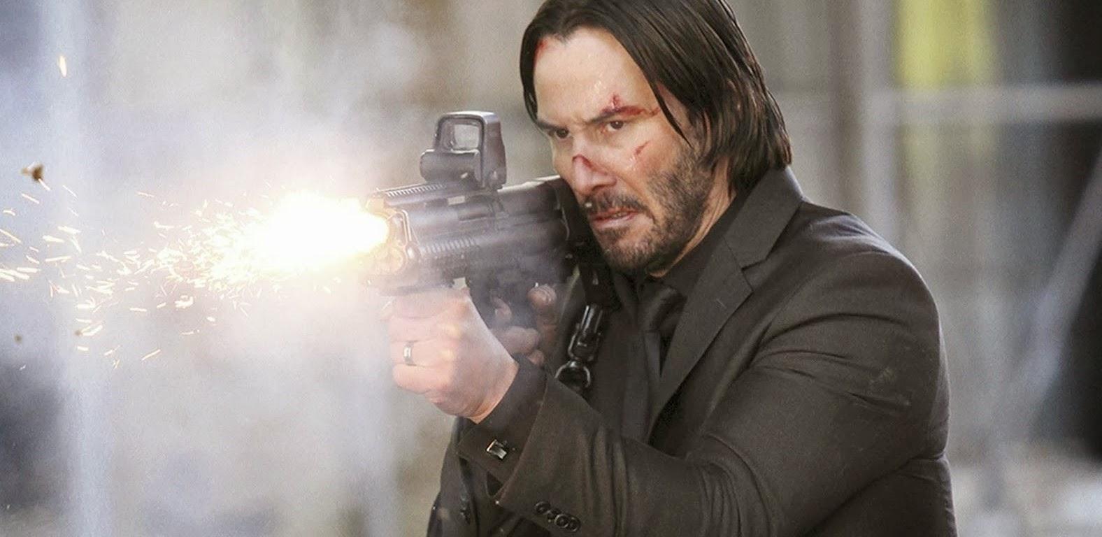 Mais ação no trailer final de John Wick, com Keanu Reeves, Willem Dafoe e Adrianne Palicki
