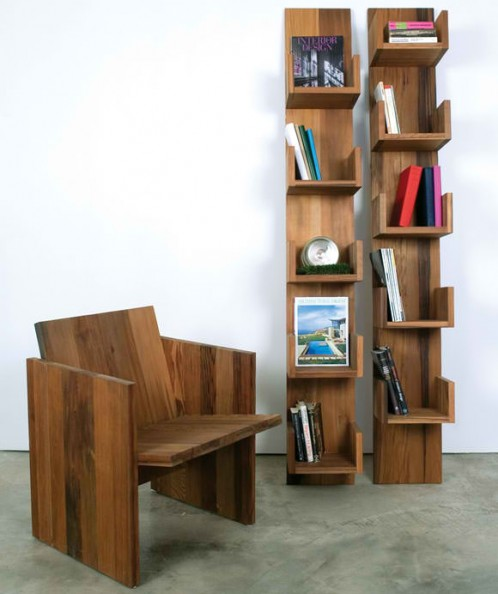 Taste of Indulgent: COOL WOODEN SHELVES, part 1