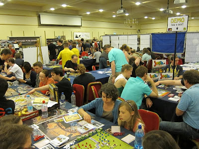 UK Games Expo - Some of the demonstration tables