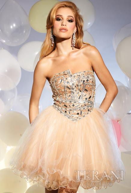 Vestidos cortos de fiesta terani 2012 22 - Gen� K�z Abiye Modelleri