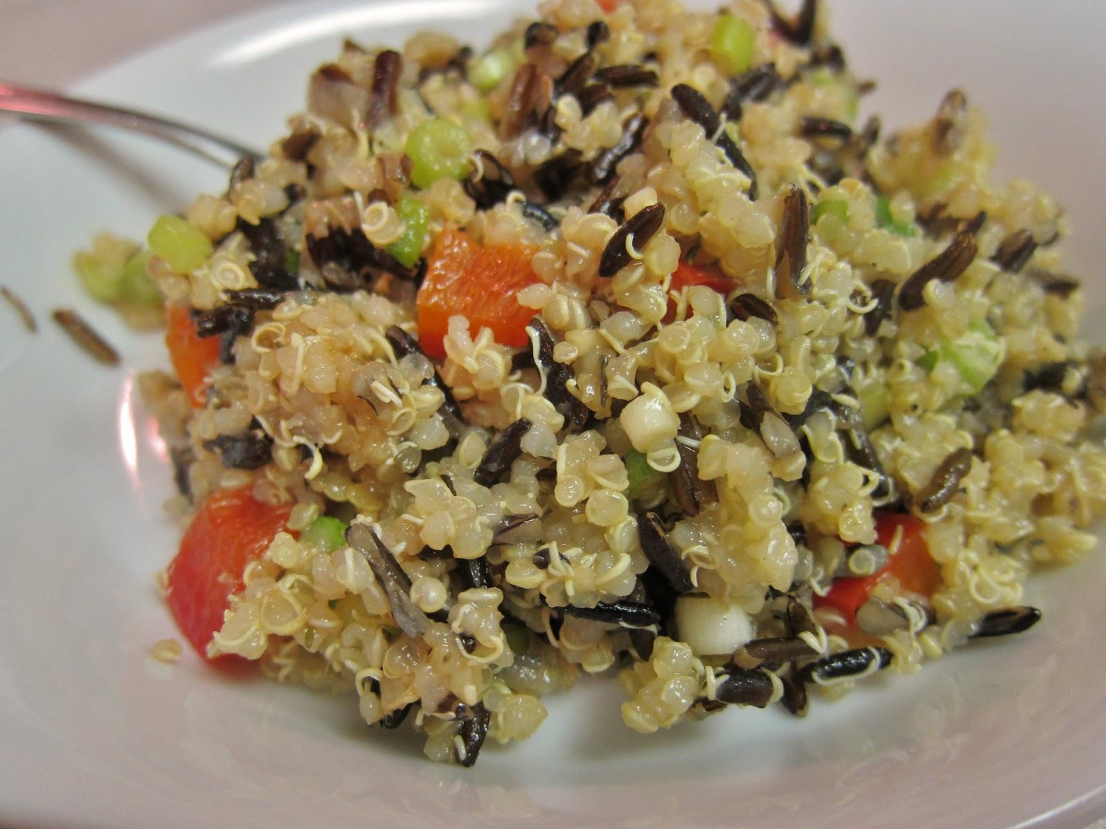 The Vegan Chronicle: Wild Rice-and-Quinoa Garden Salad