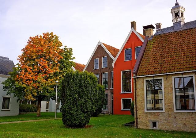 Autumn in Sneek. Friesland, the Netherlands.