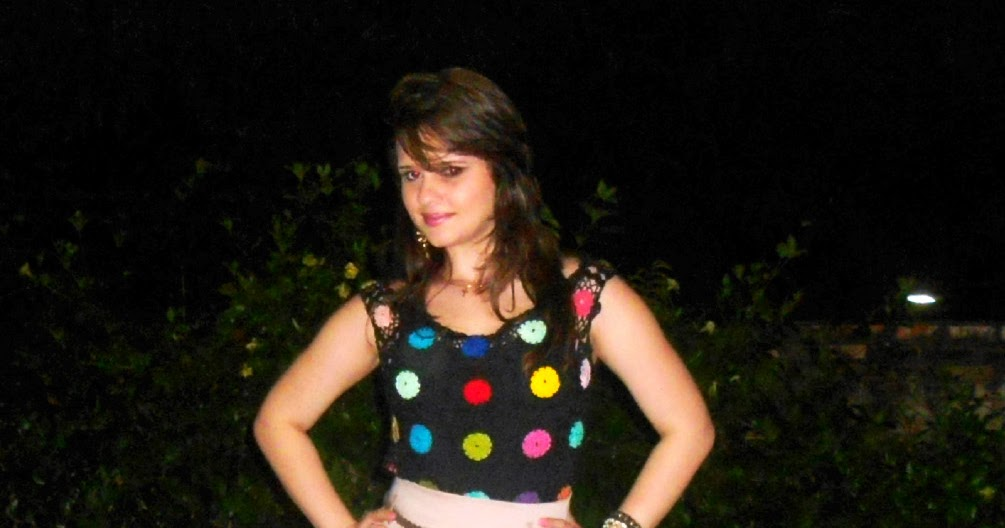 Blog da Larissa Benevides: Look da Noite - Crochê