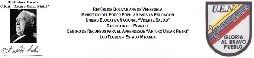 "U.E.N. ""Vicente Salias"". Los Teques"