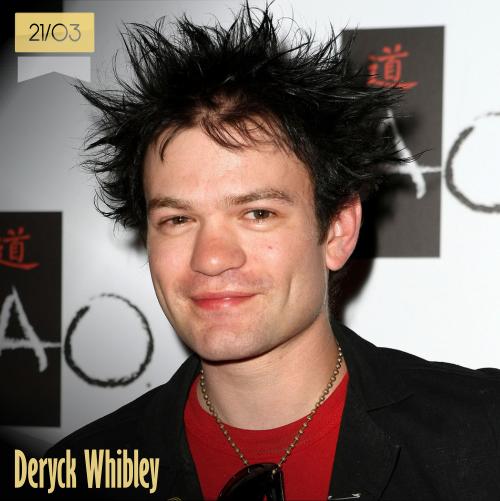 21 de marzo | Deryck Whibley - @Sum41 | Info + vídeos