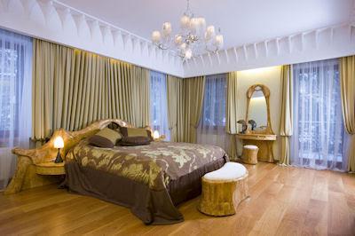 Recámara de una casa muy moderna y elegante - modern and elegant bedroom