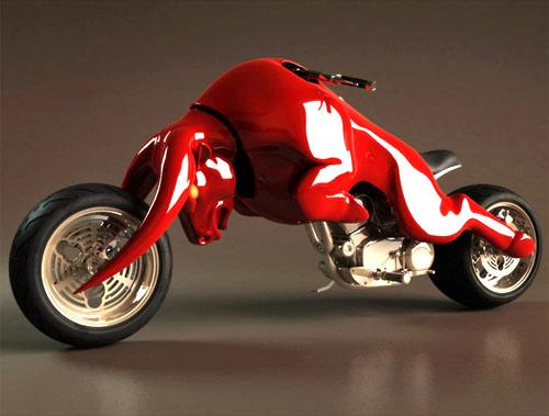 gambar modifikasi motor super ekstrim ala Predator