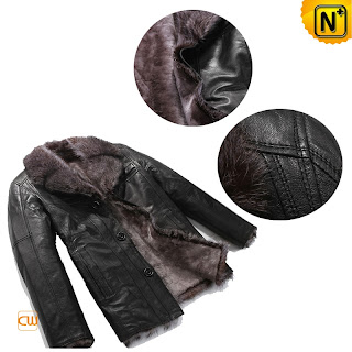 Mens Comfy Sheepskin Jacket