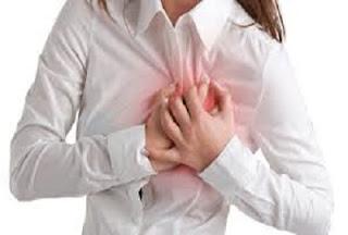 tanda serangan jantung pada wanita