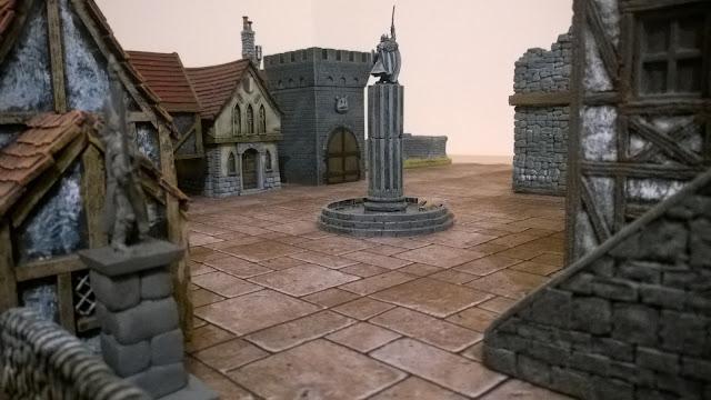 open combat scenery terrain wargames board