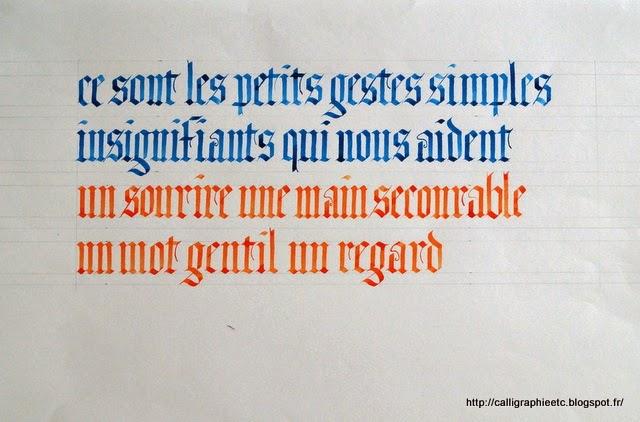 Pochoirs Alphabet Gothique Lettres Tatouage temporaire - Ecriture Gothique Pour Tatouage