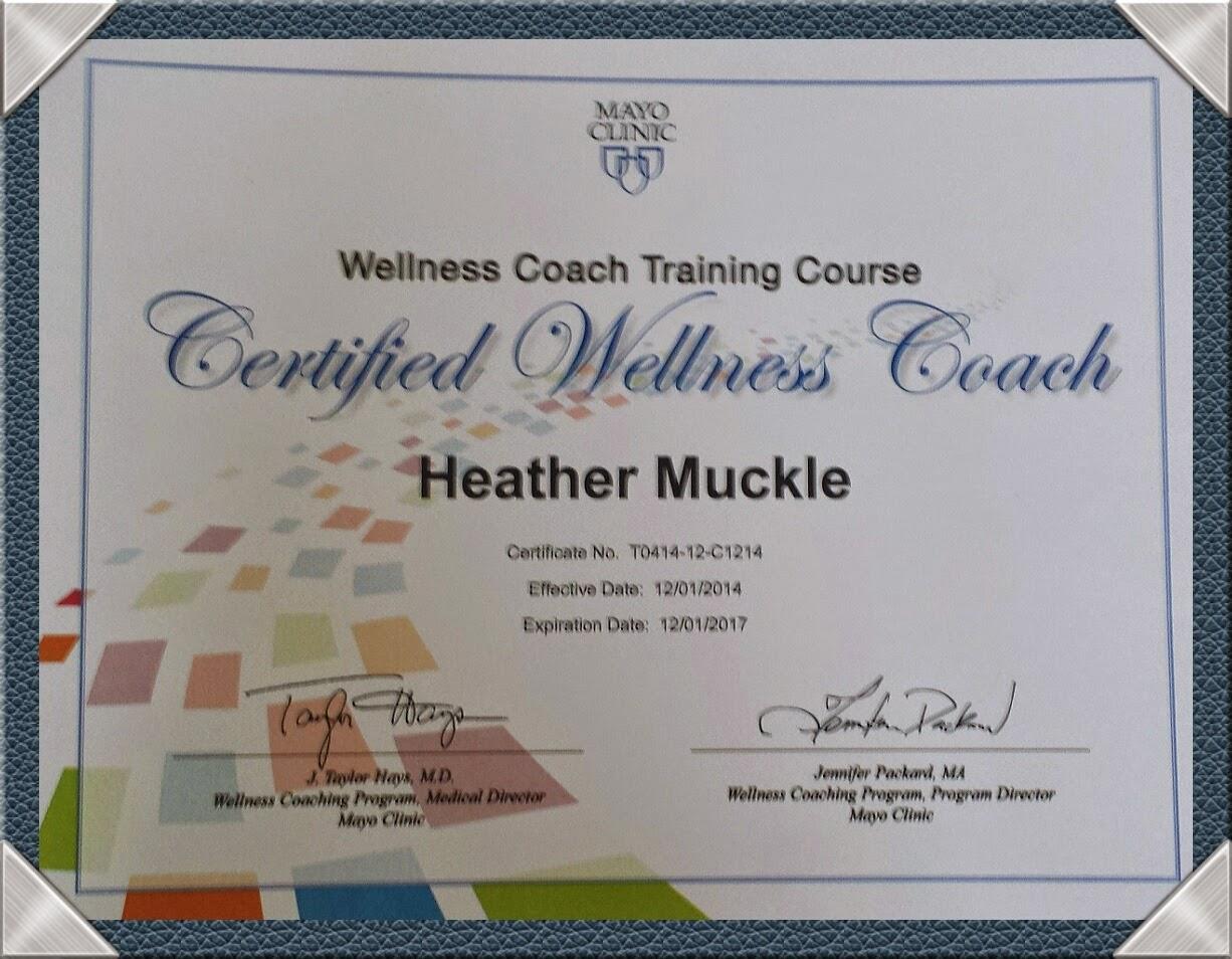 Mind Over Mayo Wellness Coaching I Did It Im A Certified Wellness