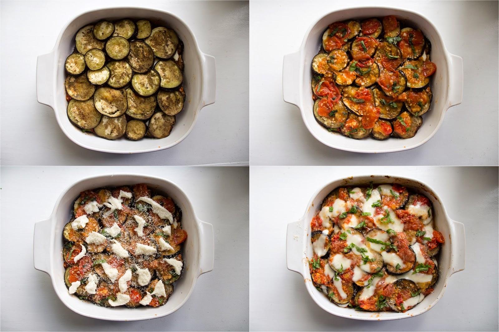 italian eggplant parmesan steps