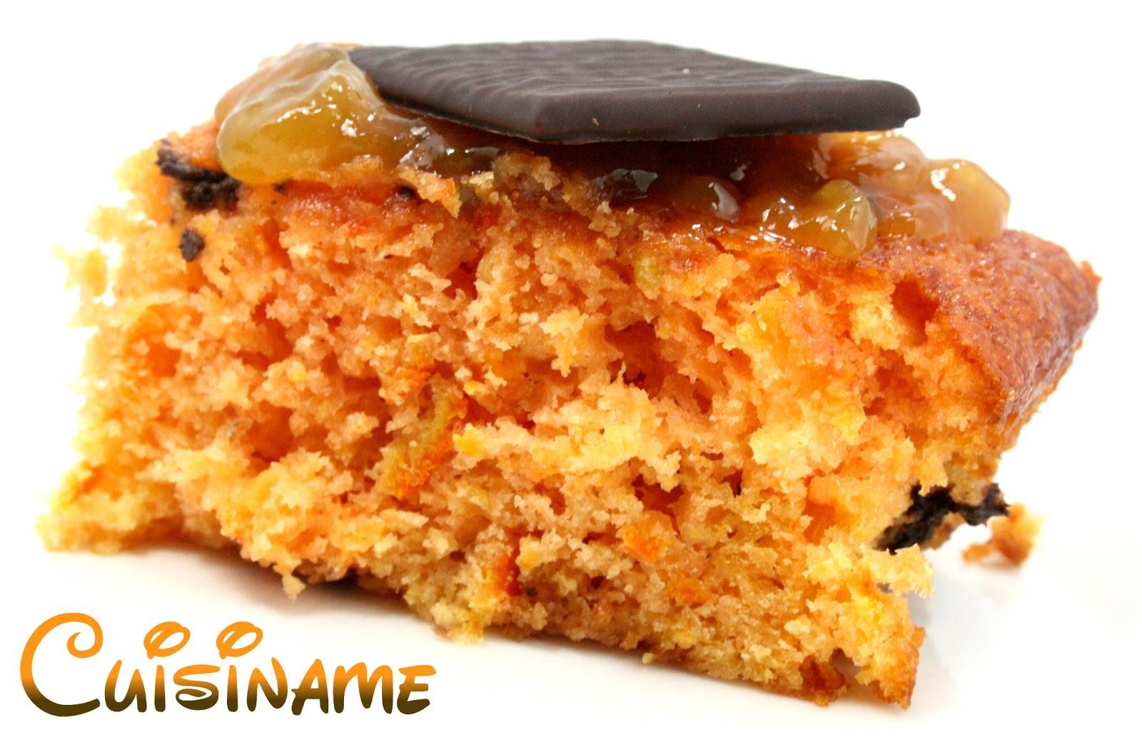 Bizcocho con chocolate con mandarinas y chocolatinas de - Postre con mandarinas ...
